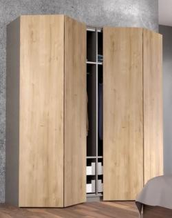 Salokāmās durvis WingLine L PTO bez rokturiem